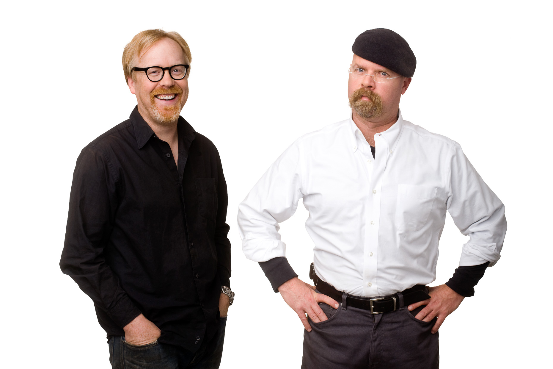 Mythbusters portrait by curtis myers